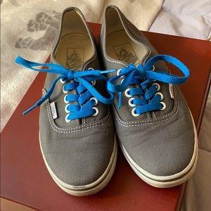Gray Vans sneakers 6f9903d95